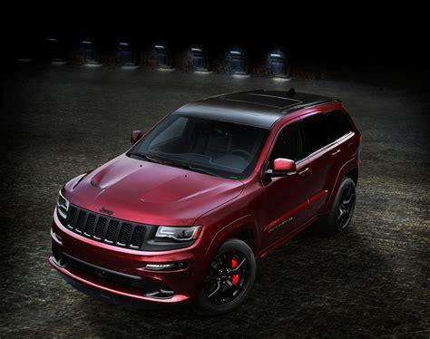 srt jeep 2016 2016 jeep grand cherokee srt night debuts at la auto show