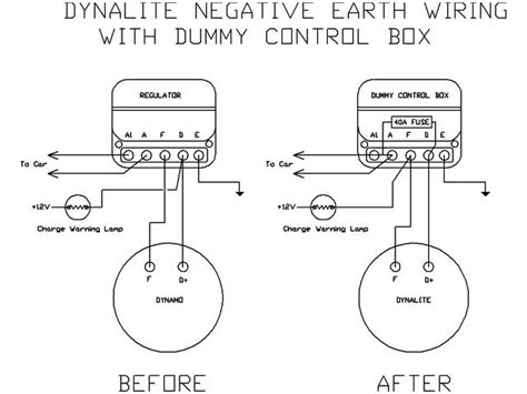 dynamo to alternator conversion wiring diagram