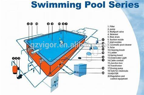 Vacuum Cleaner Kolam Renang swimming pool equipment factory for sand filter spa
