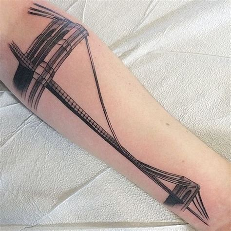 nyc tattoo pinterest new york tattoo brooklyn bridge and nyc tattoo on pinterest