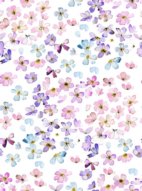 flower pattern we heart it flowers background we heart it flowers wallpaper and