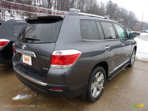 2011 Toyota Highlander Limited 2011 Toyota Highlander Limited 4wd In Magnetic Gray