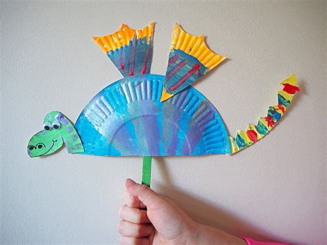 simple craft learn with play at home simple paper plate craft