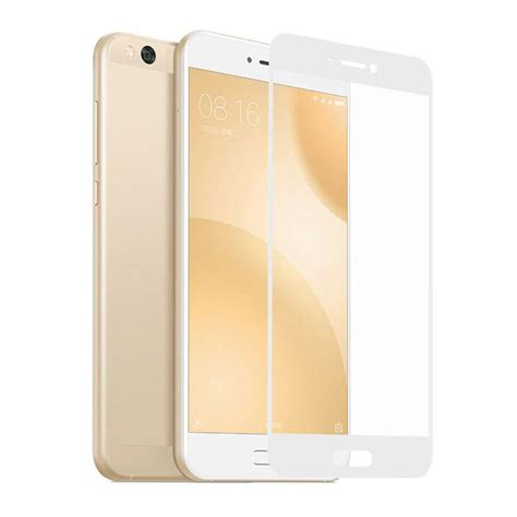 Tempered Glass Xiaomi Mi 5c xiaomi mi 5c tempered glass screen protector سایمان