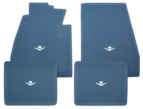Cadillac Floor Mats by 1957 58 Cadillac Floor Mats Original Style Rubber For