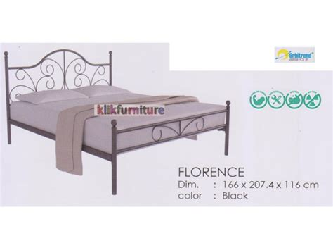 Tempat Tidur Besi Bekas harga tempat tidur besi florence orbitrend agen termurah