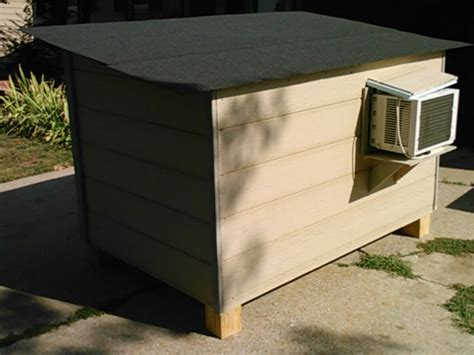 heated and air conditioned dog house dog house air conditioner dog breeds picture