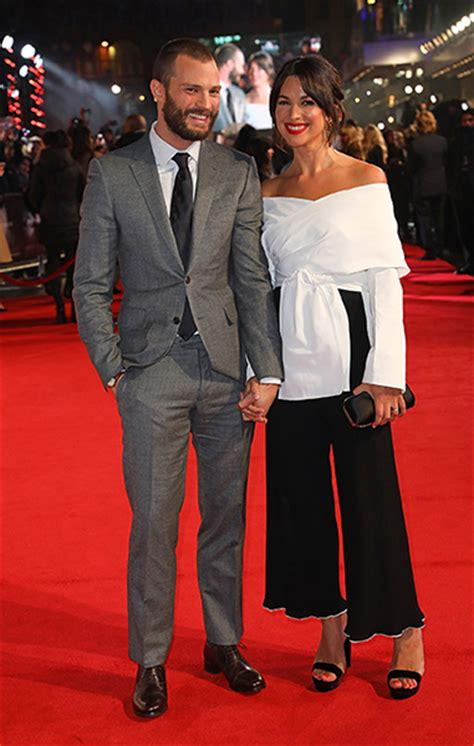 jamie dornan tv appearances jamie dornan makes rare appearance with real life wife
