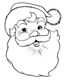 a happy merry christmas from santa coloring page