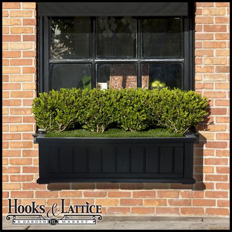 vinyl window flower boxes exterior vinyl window boxes planters hooks lattice