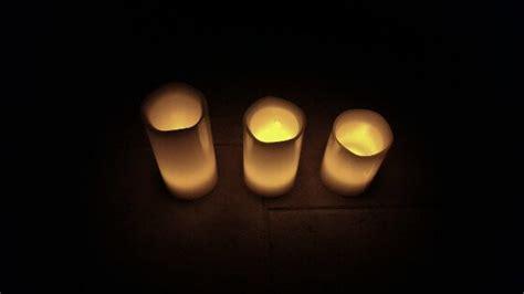 candele finte candele finte di cera con timer frostfire recensioneprodotto