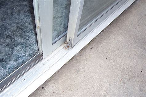 sliding glass door repair repair all things how to repair sliding glass door rollers