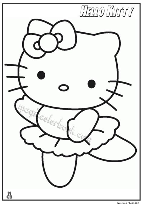 hello kitty dance coloring pages hello kitty dance coloring pages