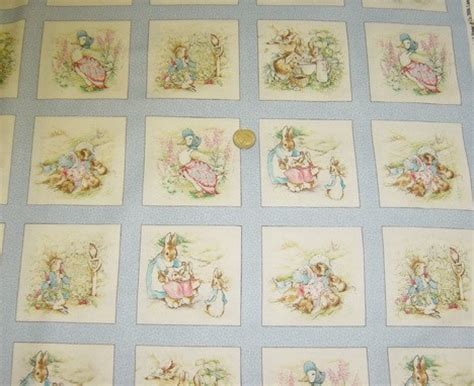 Beatrix Potter Quilt Fabric unavailable listing on etsy
