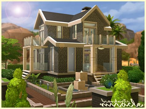 sims 4 house traditional brick quot miracle quot sims 4 houses