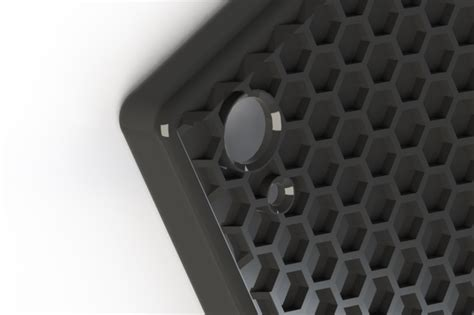 solidworks tutorial honeycomb sony xperia z2 honeycomb case solidworks 3d cad model