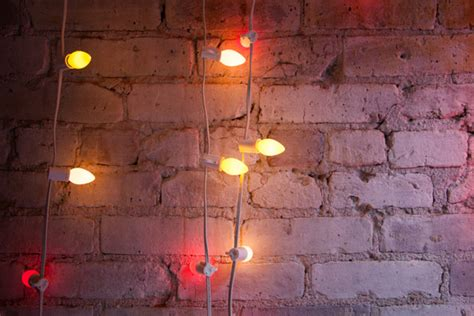 String Lights Wall - retail store design photos 54 of 570