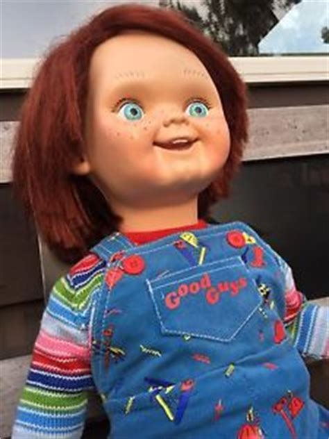 good guy doll box life size replica pin chucky prop replica doll made by medicom this is the