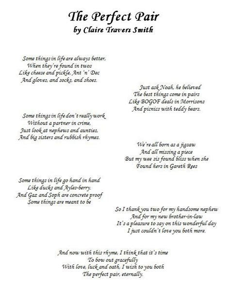 Wedding Bible Poems by Wedding Poems For Children To Read Search