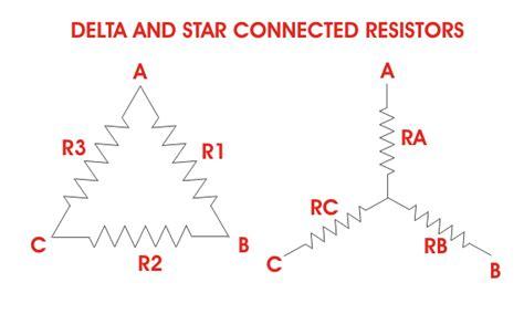 resistors connected in delta delta transformation delta transformation