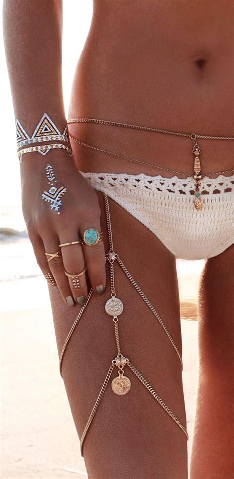flash tattoo jewellery boho jewelry rings bracelet necklace earrings