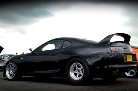 Toyota Supra Remake Black Toyota Supra Drag Difference Between