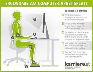 richtig am schreibtisch sitzen ergonomie am arbeitsplatz karriere at