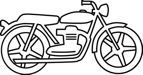 motorcycle coloring pages easy printable motorcycle coloring pages for preschoolers