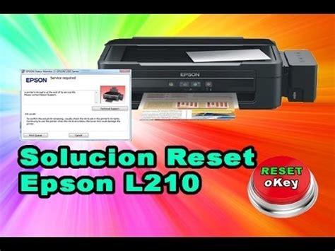 reset impresora epson l210 gratis resetear contador de epson l100 l210 l300 l350 l355 l555