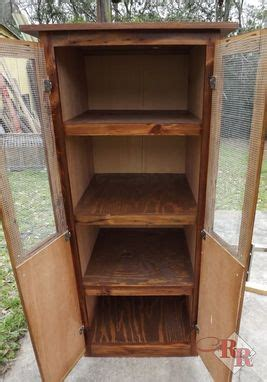 hand crafted rustic linen pantry cabinet  rustic ridge