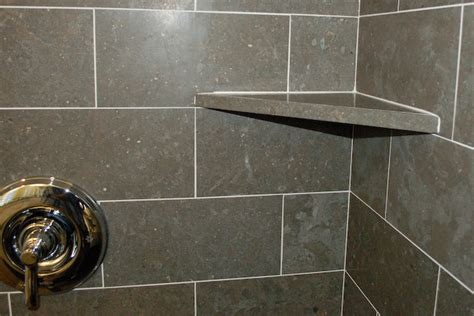 How To Install Corner Shelf In Tile Shower by Shower Corner Shelf Install A Tile Soap Dish Icreatables