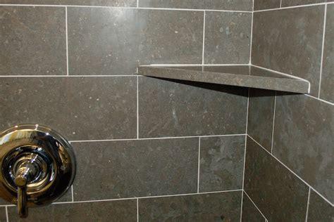 Shower Shelf Installation by Shower Corner Shelf Install A Tile Soap Dish Icreatables