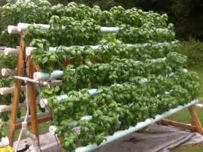 Strawberry Vertical Garden - space saving diy vertical gardens