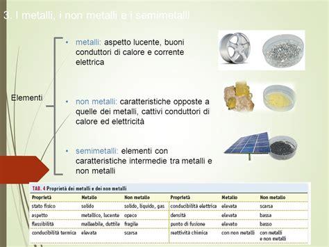 metalli e non metalli nella tavola periodica la composizione della materia ppt scaricare