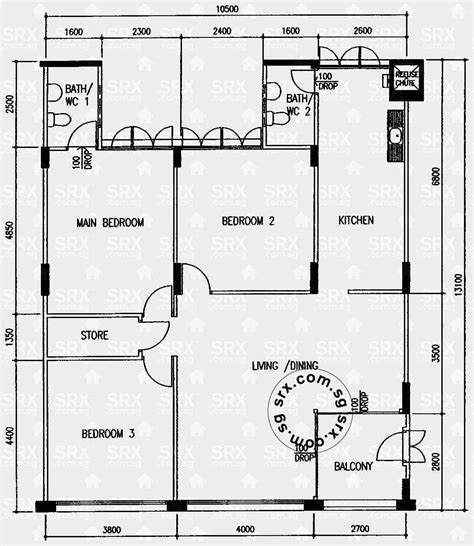 hdb floor plan floor plans for simei street 1 hdb details srx property