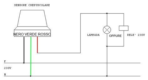 lade da esterno con crepuscolare interruttore crepuscolare 230v esterno regolazione soglia