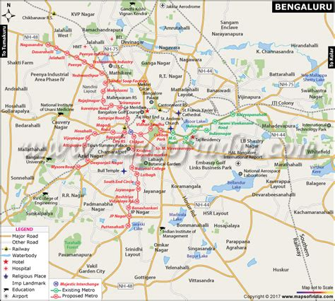 Distance Mba In Hospital Administration Bengaluru Karnataka by Bengaluru City Map Travel Information And Facts