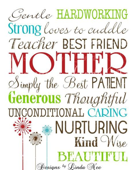 mothers day subway art printables free mother printable typography subway art wall printable