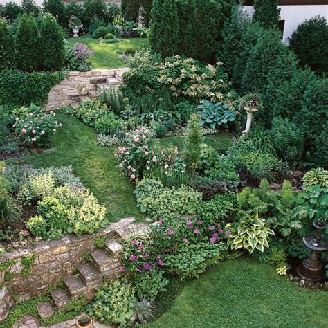 landscaping ideas for backyard best 25 sloping garden ideas on sloped yard