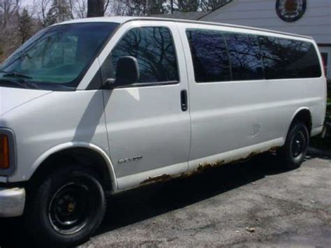 car repair manuals download 1999 chevrolet express 3500 electronic toll collection sell used 1999 chevrolet 3500 express extended body van for parts or repair only in milwaukee