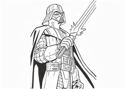 darth vader coloring pages free coloring pages and