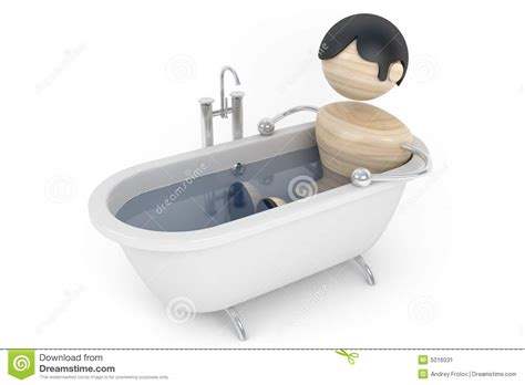 the bathtub man man relax in the bath stock image image 5016031