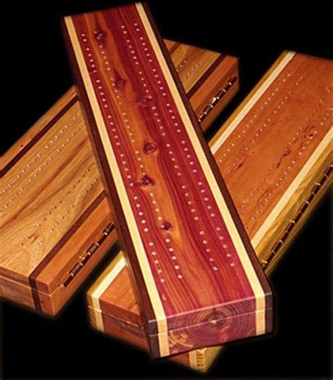 Handcrafted Cribbage Boards - cribbage board woodworking and showroom on