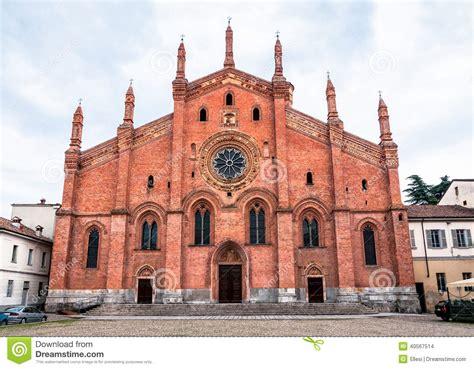 chiesa carmine pavia chiesa di santa carmine a pavia italia