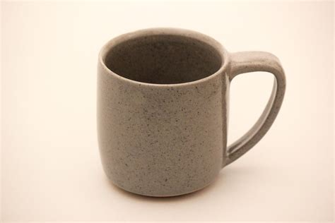 Handcrafted Ceramics - handmade ceramic mug coffee mug brownstone mug
