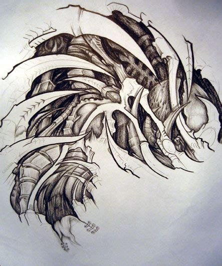 biomechanical tattoo navrhy biomechanical tattoos and designs page 167