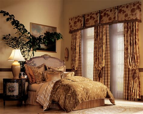 bedroom drapery pairing custom drapery with blinds shades dallas plano