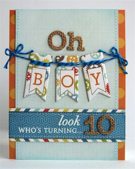 how to make a birthday card for boys snippets by mendi an echo park all about a boy birthday card