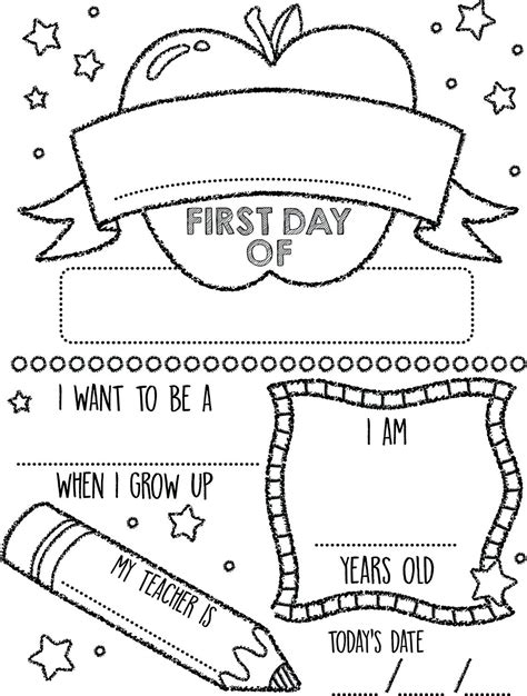 printable coloring pages for the first day of school online coloring for 4 year olds miss adewa 1467b8473424