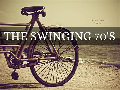 swinging in the 70s the swinging 70s by linda derrow